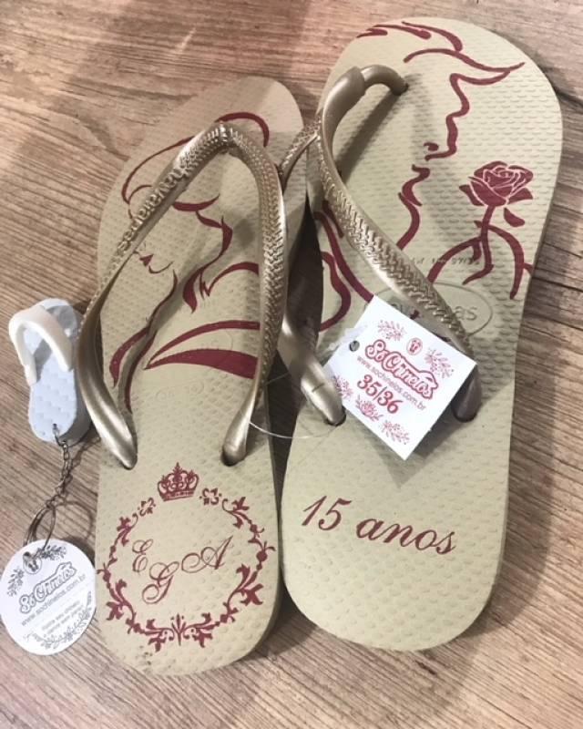 10e439842c Quanto Custa Chinelo Personalizado para Aniversário Rio de Janeiro - Chinelo  para Aniversário de Bebê